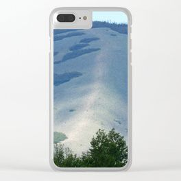 Hog's Back Mountain Clear iPhone Case