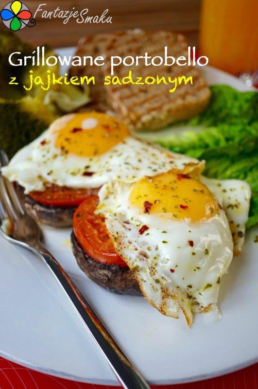 Grillowane portobello z jajkiem sadzonym http://fantazjesmaku.weebly.com/blog-kulinarny/grillowane-portobello-z-jajkiem-sadzonym