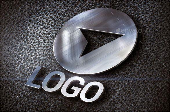 Free 3D Logo Mockups | b | 3d logo, Graphic design fonts, Logos