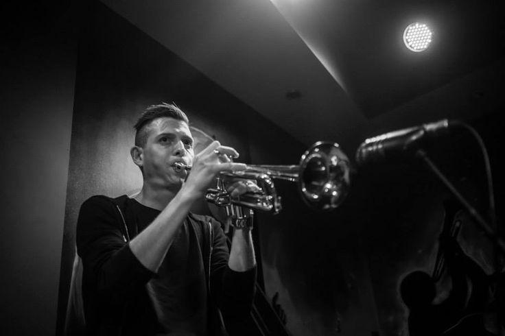 Rafcox Rafał Gęborek trumpet jazz electronic music performer Poland