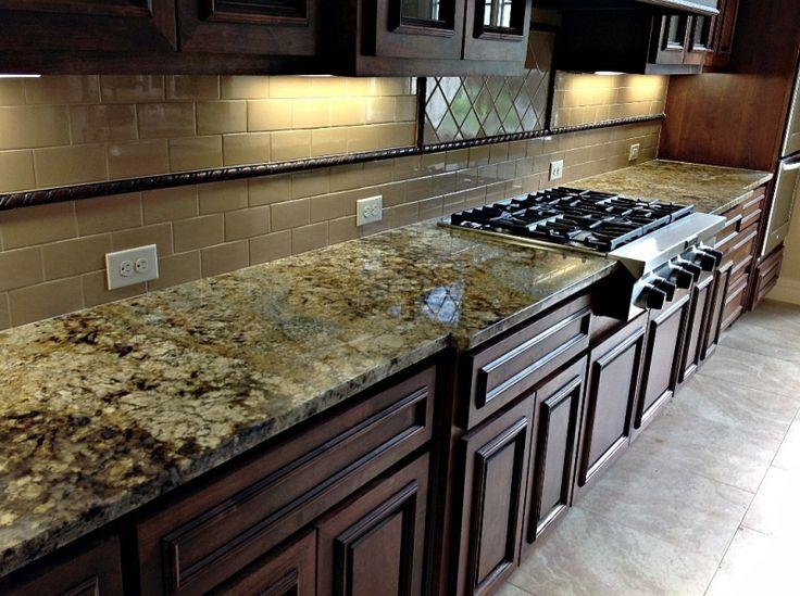 Granite Countertop with pretty patterns