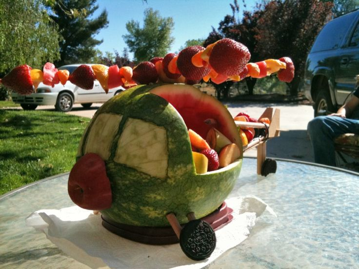 watermeloncopter Jerrica this thing NEEDS to be at my baby shower :)
