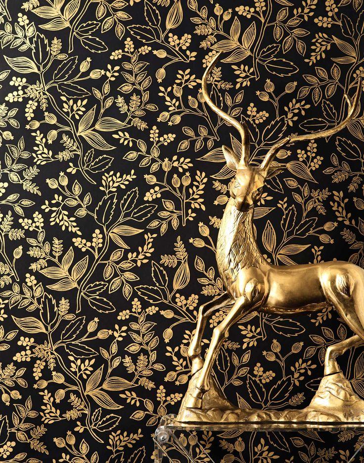 Queen Anne (Ebony) wallpaper – Hygge & West