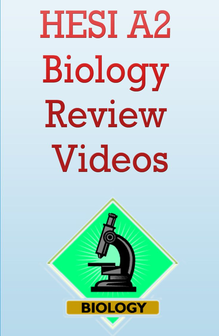 http://www.mometrix.com/academy/hesi-a2-biology/  Prepare for the HESI A2 Biology exam with these great HESI A2 Biology review videos.
