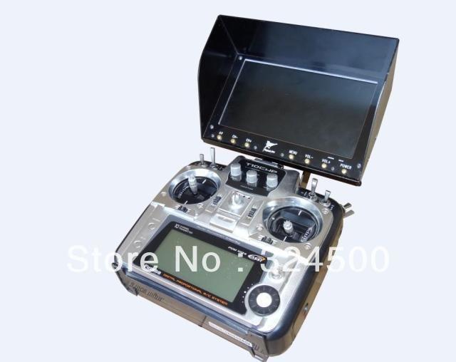 Жаворонок 7 дюймов выделите монитор не синий экран 1000 кд / м2 ( самолет FPV система комплект 7 дюймов на открытом воздухе свет визуальный бпла самолет