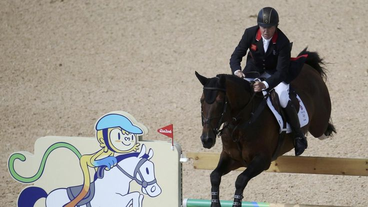 Team GB's Nick Skelton wins show jumping gold on Big Star