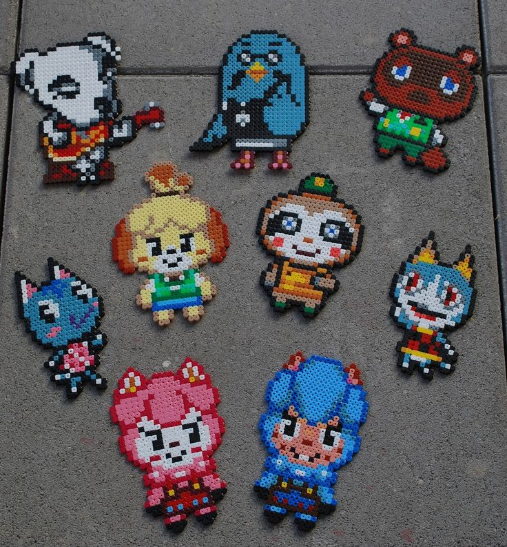 243 best animal crossing images on Pinterest | Videogames ... - Pixel Art Animal Crossing
