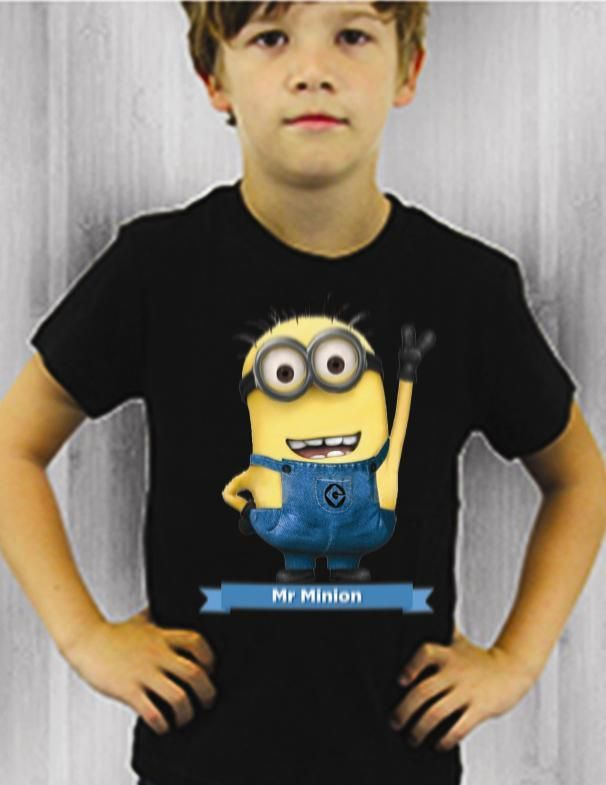 $179.00 Playera Mr. Minion Mi Villano Favorito - Jinx