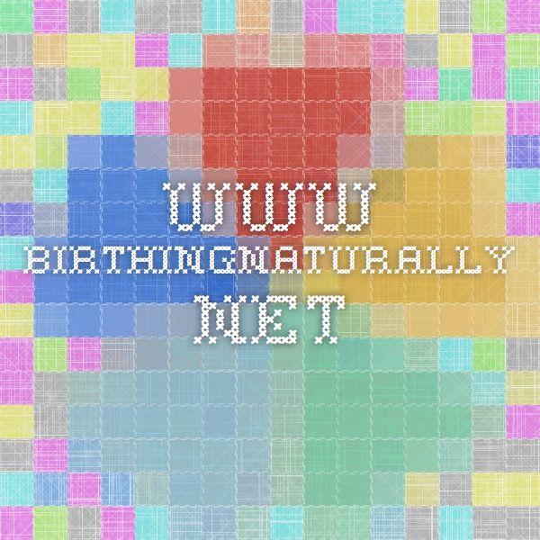 Sample Birth Plans www.birthingnaturally.net