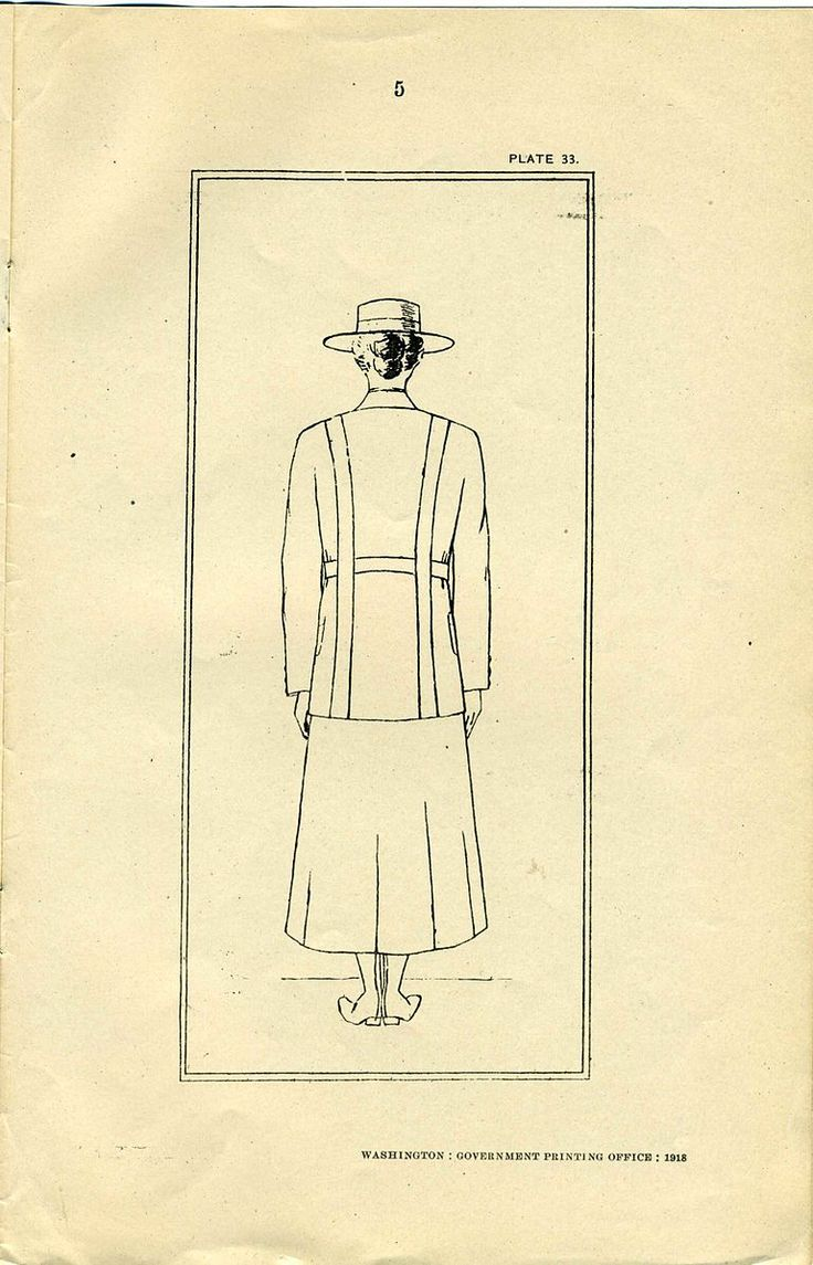 File:US Navy Reserve Force, Yeoman F WWI, Changes in Uniform Regulations No 15, Page 5. (4669161709).jpg