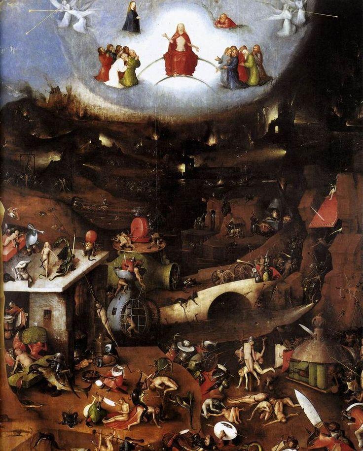 O Juízo Final - Pinturas com temas tirado da bíblia
