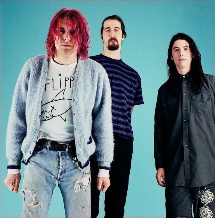 """kurtcobain-nirvana5: """" New! Nirvana - January 11, 1992 - New York, NY, US Photo by Michael Lavine. """""""