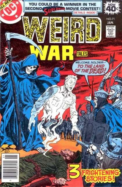 Weird War Tales 71