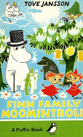 Finn Family Moomintroll - Tove Jansson. My other favourite moomin book. All the adventures that ensue the summer Moomintroll and his friends find the magical Hobgoblin's hat.