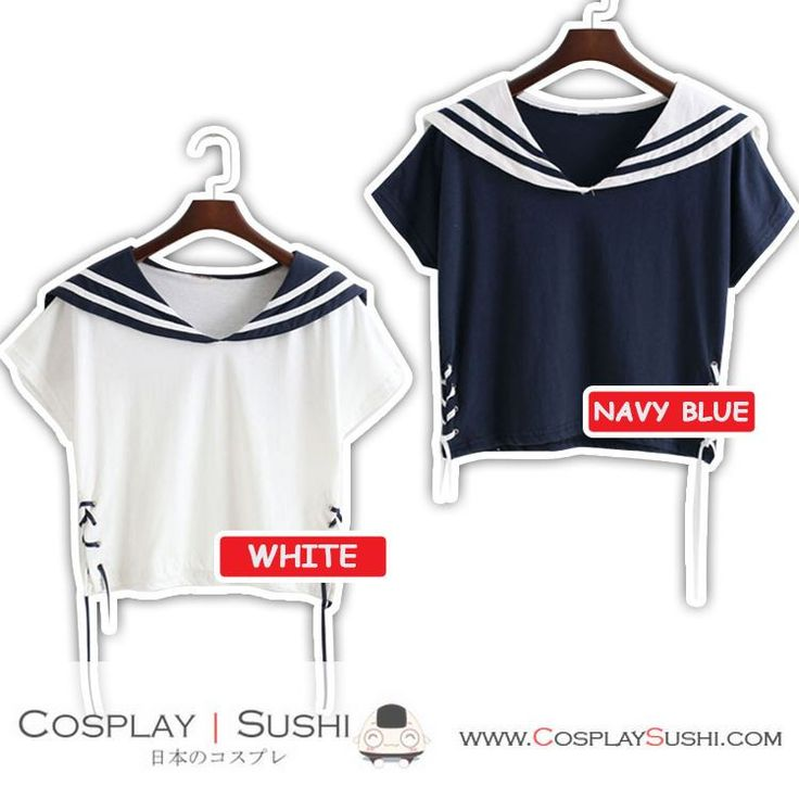Get our NEW Sailor Hanging Blouse! SHOP NOW ► http://bit.ly/20pKi0h Follow Cosplay Sushi for more cosplay ideas! #cosplaysushi #cosplay #anime #otaku #cool #cosplayer #cute #kawaii #Sailor #tops #blouse #clothes #style #design