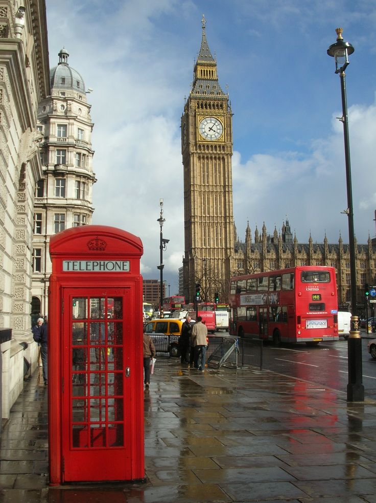 We honeymooned in London.