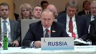 Putin's FULL Speech at G20 Summit to BRICS Leaders in Hamburg, Germany