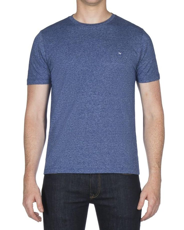 Ben Sherman Plain Grindle T Shirt Royal Blue – indi menswear