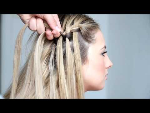 FASHION Magazine | Waterfall braids, fancy ponytails and more: 5 prom hairstyle tutorials