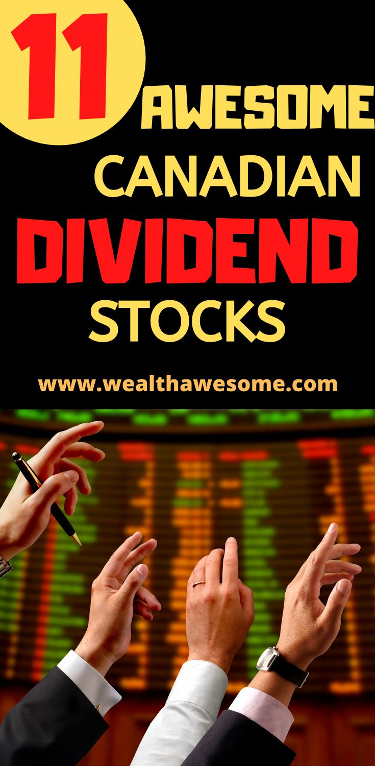 11 Best Canadian Dividend Stocks for 2020 in 2020 ...