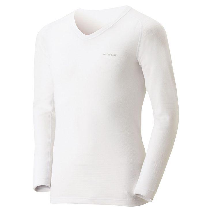 ¥価格 ¥4,800 +税 ジオラインM.W. Vネックシャツ Men's ( 品番 #1107554 )NEW:生地内に多くの空気を蓄えるため、高い保温力を持ち、素早く汗を吸水拡散して、素肌を常に乾いた状態に保ちます。Vネックなのでシャツなどの下にも着用しやすくなっています。