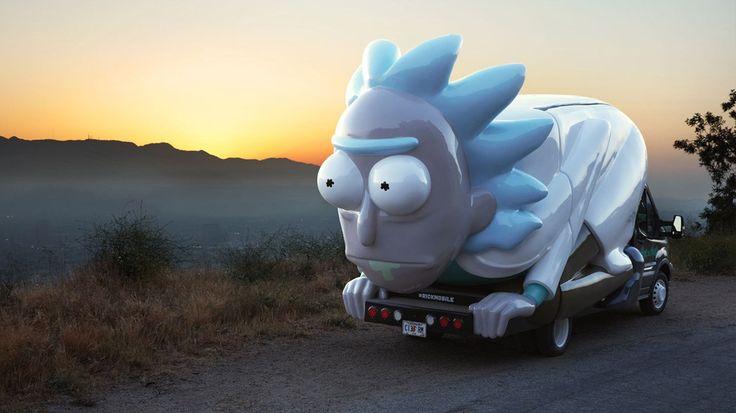 Rickymobile vai cruzar os Estados Unidos durante todo o ano, vendendo merchandising da série animada