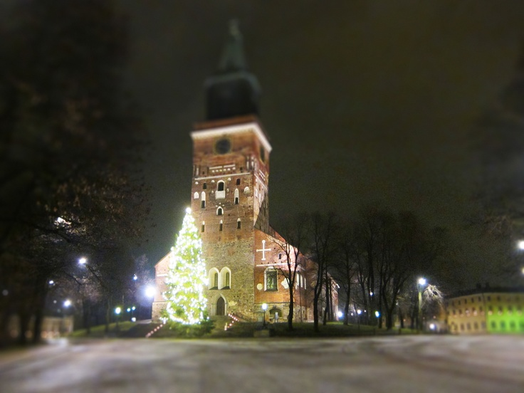 Turku X-mas Cathetral in minitur
