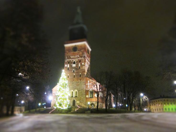 Turku X-mas Cathetral in minitur