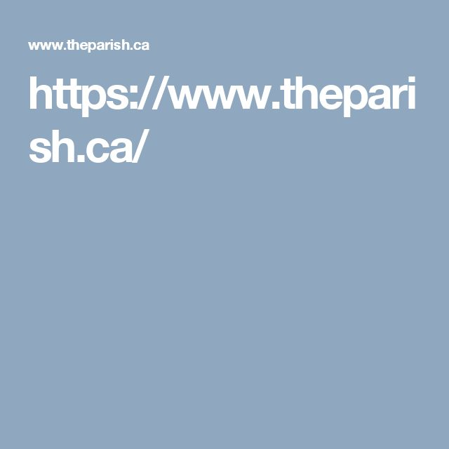 https://www.theparish.ca/