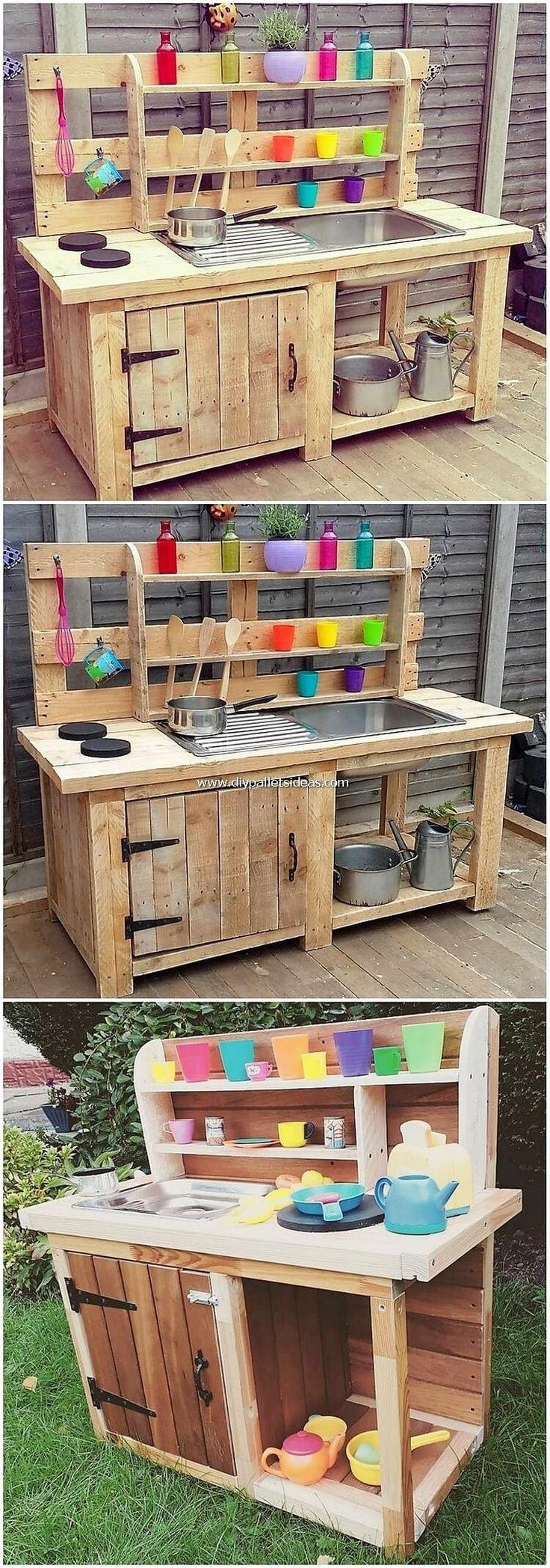 Verblüffende DIY-Paletten-Ideen für Home Beauty