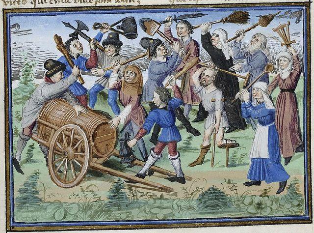 Henri de Ferrières, Les Livres du roy Modus et de la royne Ratio 334 by peacay, via Flickr