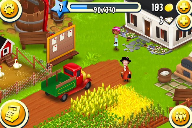 Is the most favorite farming simulation game on mobiles and tablets. If you like simulation games then you are going to love Hay Day. Its not like other farming games just set your crop then collect them when it is the time.