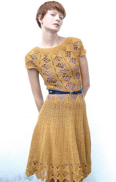 crochet dress..