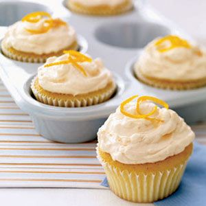 Will have to make for Chuck - Creamsicle Cupcakes