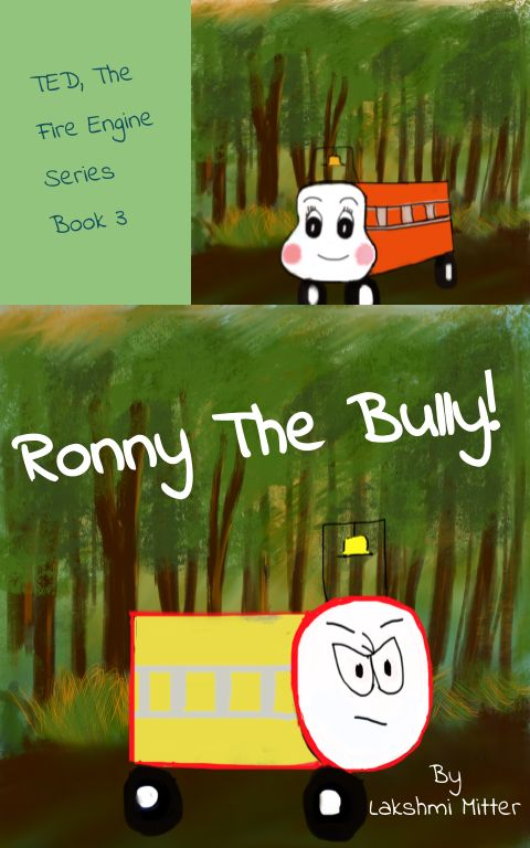 """Announcing the launch of """"Ronny the Bully"""" – Sparkling Doodles – Medium"""