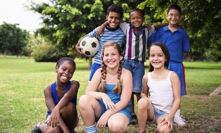 $185 for Up to Two Hours of Kids' Sports Parties from Get Fit 4 Kids (Up to $325 Value)