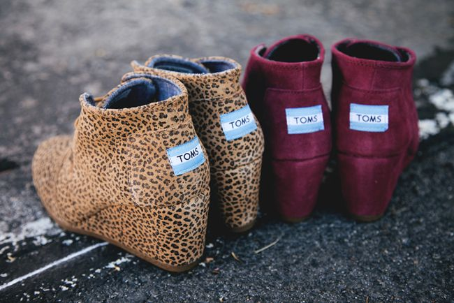 """""""toms wedges"""" Toms are a very popular shoe. As toms have gotten more popular they have come up with new designs to keep their line of shoes fresh. These toms wedges are a cute and comfortable way to dress up an outfit. -Adair M"""
