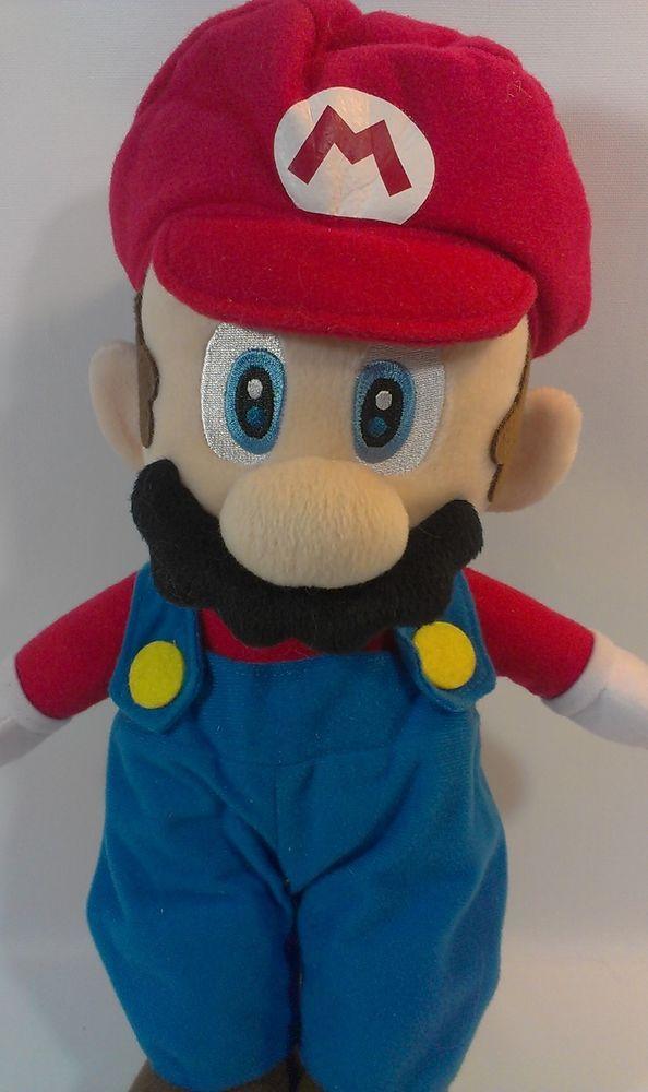Super Mario Plush Doll Mario Party 5 Nintendo 2003 Hudson