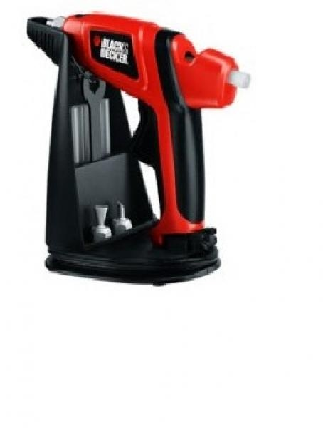 Today's top offer: Black & Decker hot-glue gun.To be used either corded or alternatively cordless for up to 6 minutes. Product with ergonomic grip and non-drip base  for only 8.50 Euro per piece.