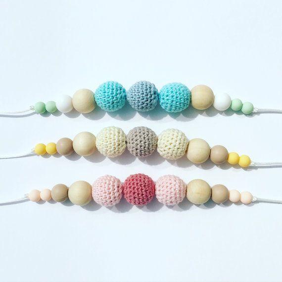 nursing necklace/ teething necklace/ door KripiStipiCreations