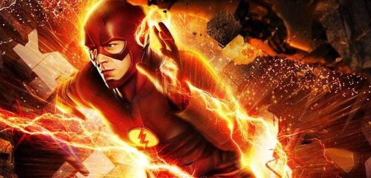 """A CW liberou um novo poster para o episódio dessa semana de The Flash intitulado """"The Runaway Dinosaur"""", no episódio temos Barry Allen preso dentro da força da aceleração, tentando recuperar sua velocidade e voltar para casa. Com Barry (Grant Gustin) fora de combate, a equipe precisa encontrar uma forma de lidar com o retorno …"""