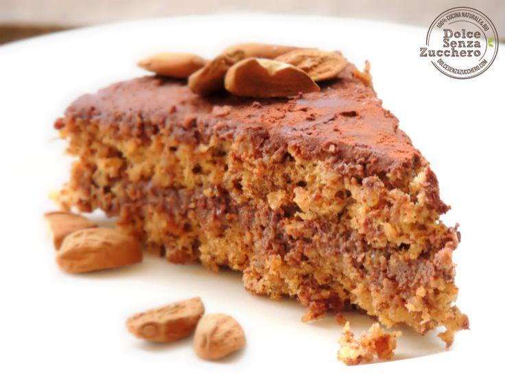 Torta di Cacao e Mandorle è la torta golosa a basso indice glicemico, senza glutine, senza zucchero e senza latticini. Torta di Cacao e Mandorle è naturale