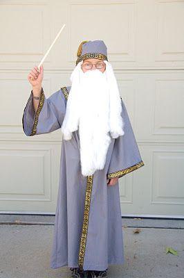 Easy Dumbledore Costume for $10!!