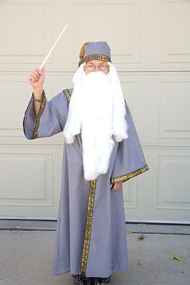 Easy Dumbledore Costume for $10!!