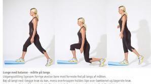 træning for baller og lår