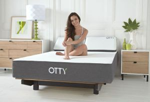 OTTY mattress offers a unique combination of 2000 (6 inch) pocket springs, Luxurious Flex Foam and a new Cooling Gel which merge together to offer you the best nights sleep at a very competitive price.   OTTY also offer free next day delivery and 100 nights trial sleep and a 10 year guarantee all included in what I'm sure you will agree is a pretty good price.