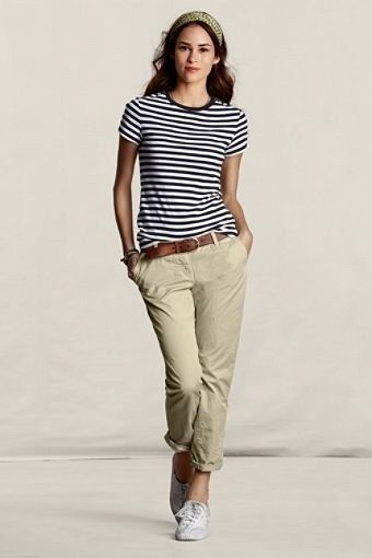 37 Summer Outfit Ideas with Striped Style – Weissundschwarz