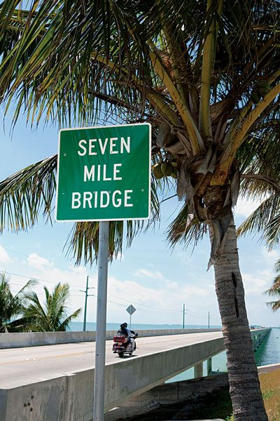Must do tijdens een roadtrip door Florida: rij over de 7 mile bridge in The Keys.