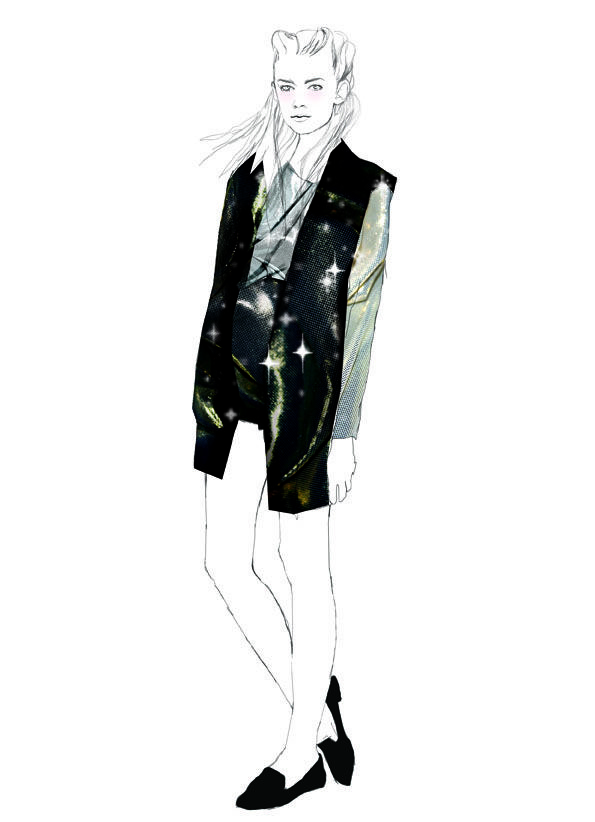 Fashion illustration // Shira Barzilay