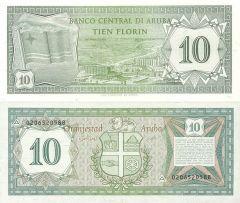10 Florin Aruba's Banknote